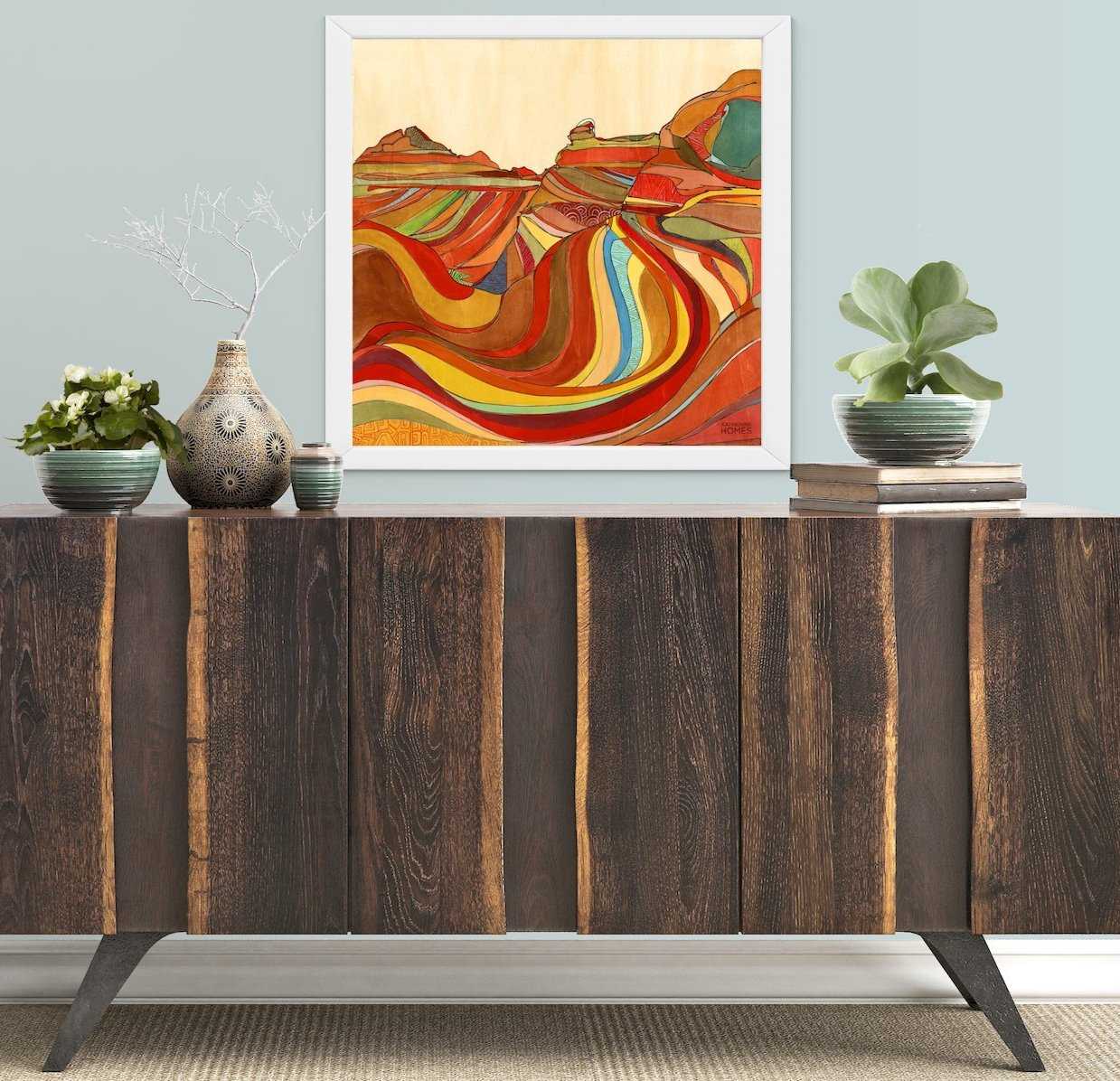 Katherine Homes The Wave, Arizona Print
