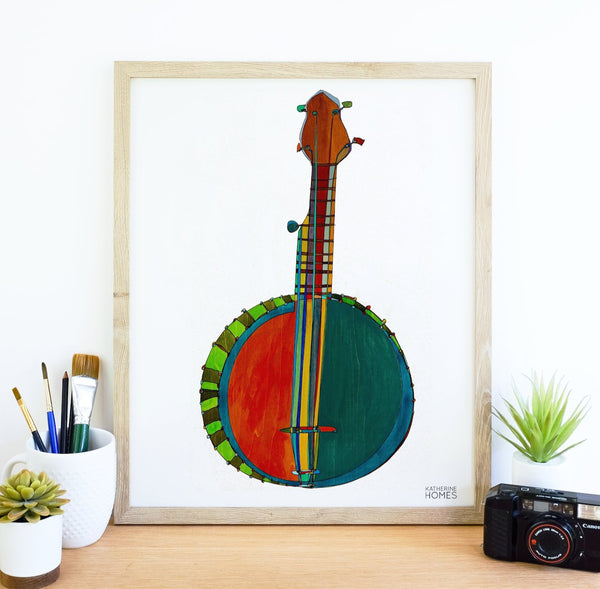 Original Banjo design by Katherine Homes