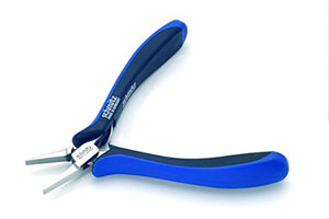 Flat Nose Pliers 5.1/2'' short, strong and serrated jaws 4322HS22