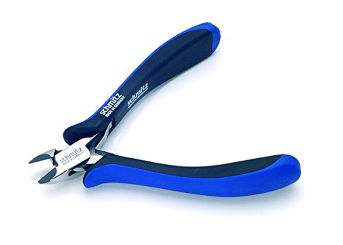 Tungsten-Carbide tipped Side Cutting Pliers 5.3/4'' | schmitz 3441HS22 | oval head with bevel