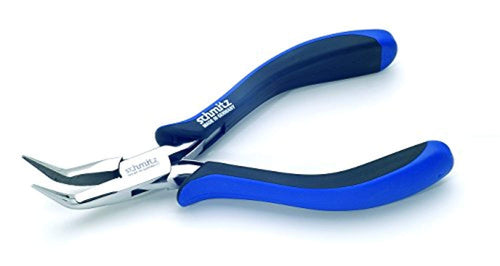 Snipe Nose Pliers 6.1/8'' bent, long, serrated jaws 4414HS22
