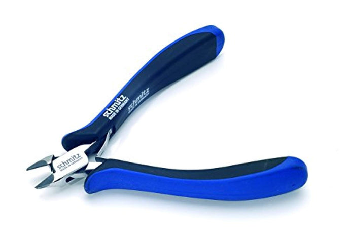 Side cutting pliers 5'' Tungsten-Carbide tipped | schmitz 3432HS22 | tapered head with fine bevel and relieved jaws