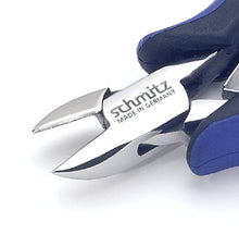 "Load image into Gallery viewer, Side cutting pliers 5.1/2"" oval head with bevel strong version 3301HS22"