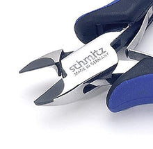 Load image into Gallery viewer, Side cutting pliers 4.3/4'' Tungsten-carbide tipped oval head with fine bevel 3407HS22