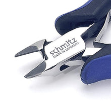 Load image into Gallery viewer, Side cutting pliers 5'' Tungsten-Carbide tipped | schmitz 3432HS22 | tapered head with fine bevel and relieved jaws