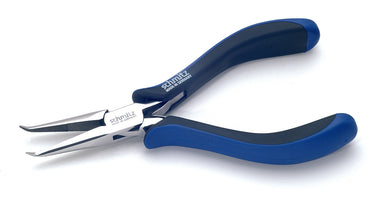 Snipe Nose Pliers 6.1/8'' bent near tip, long, serrated jaws 4416HS22