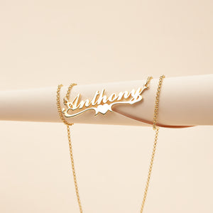 Love wing personalized name necklace