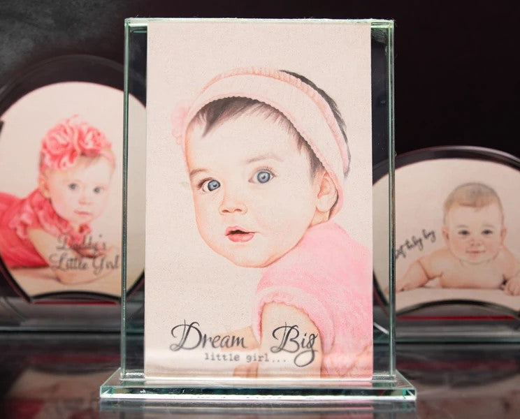 Customized Photo Sand Art Bottle(You will get  videos to see how artists work on your photo)