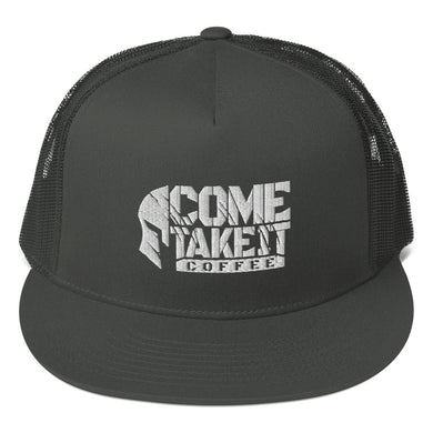 COME TAKE IT COFFEE Mesh Back Snapback