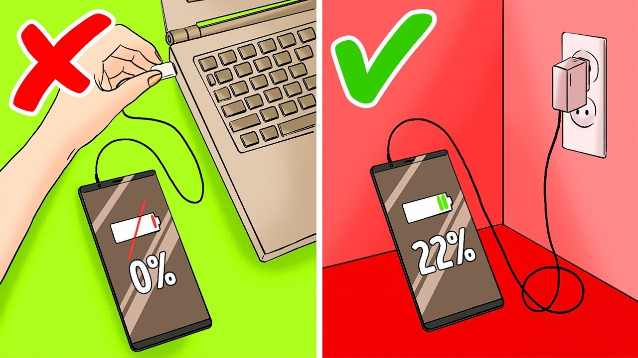 11 Mistakes We Make When Charging Our Phones