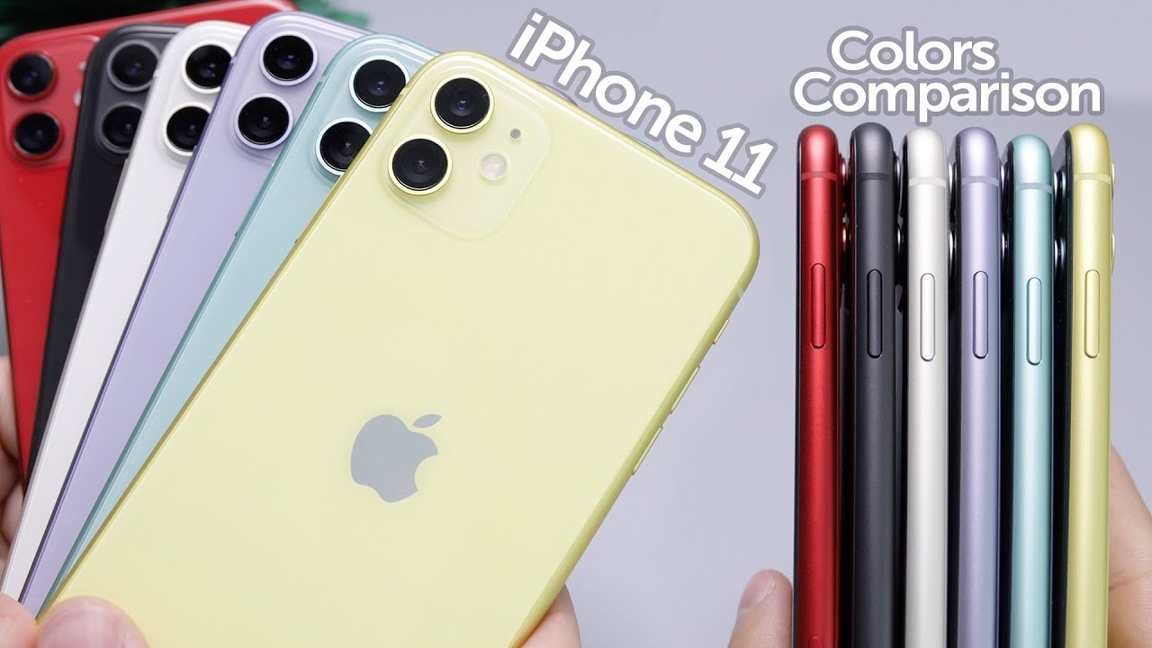 Which Color iPhone 11 Should You Buy – Black, White, Yellow, Green, Purple, or Red?