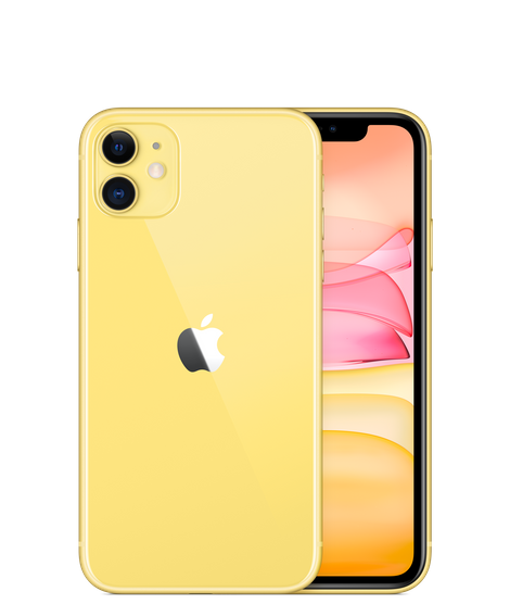 #2 Yellow iPhone 11