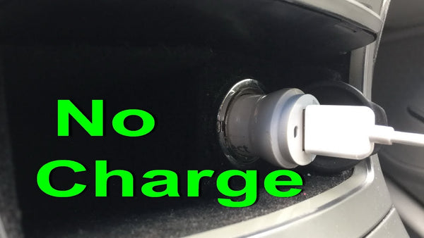 Car charger not working