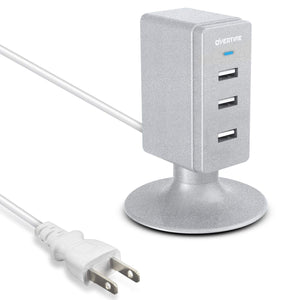 3-Port USB Hub Tower for Charging - VarietySell
