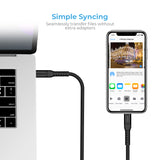 Apple MFi Certified USB C to Lightning Cable - 6ft