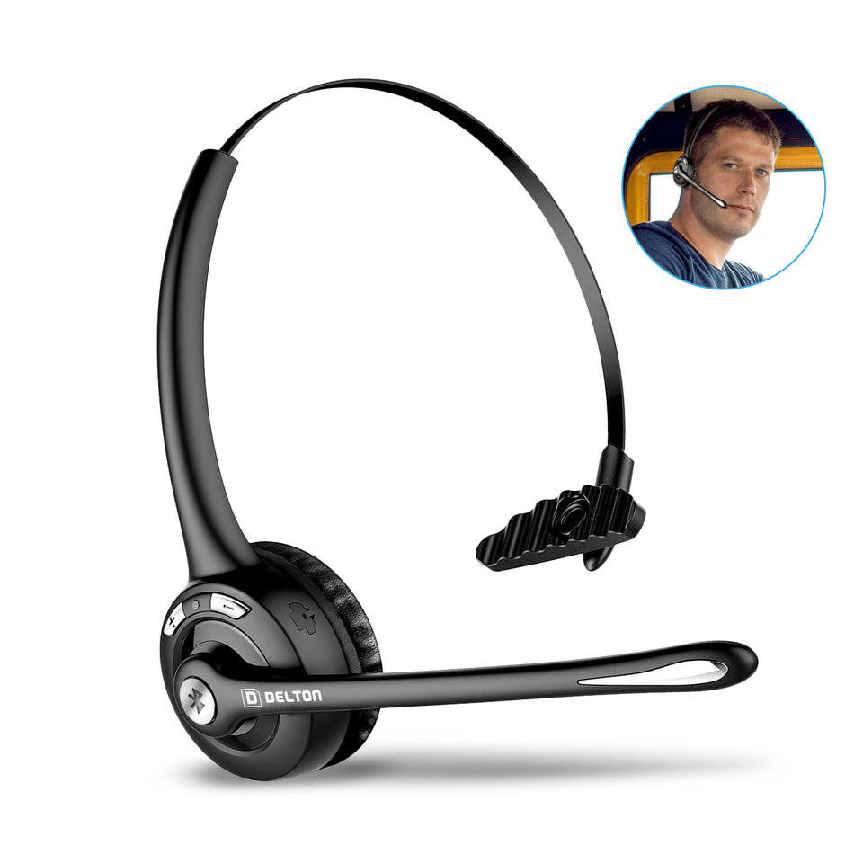 Trucker Bluetooth Headset with Microphone