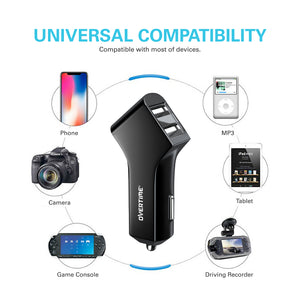 Micro USB 2.4AMP Vehicle Charger - VarietySell