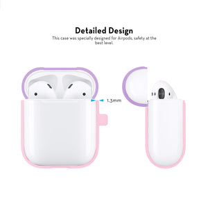 iFab Silicone Airpods Case Cover Pink - VarietySell