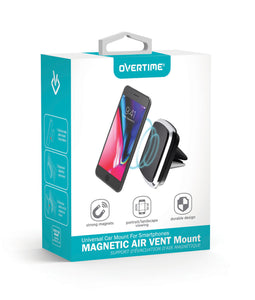 Magnetic Air Vent Mobile Device Mount