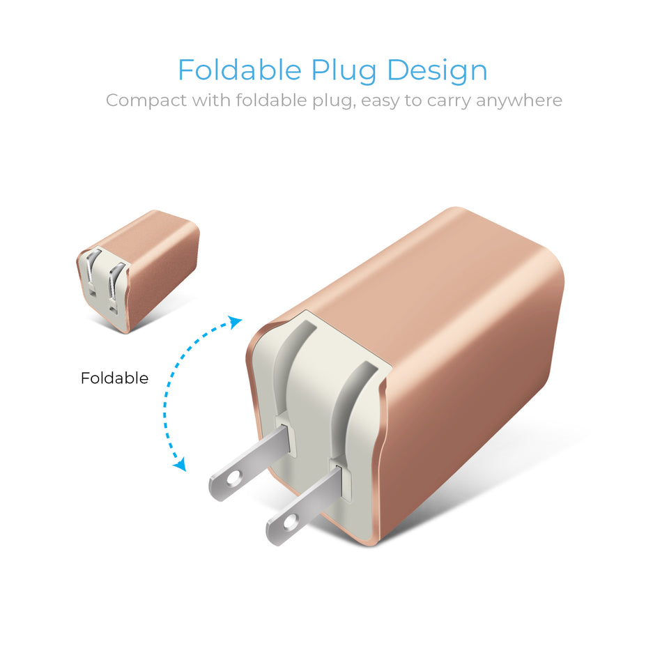 Dual USB Home Charger - 2.4AMP - VarietySell