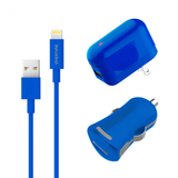 Apple MFI Certified USB Wall & Car Charger with Lightning Cable - VarietySell