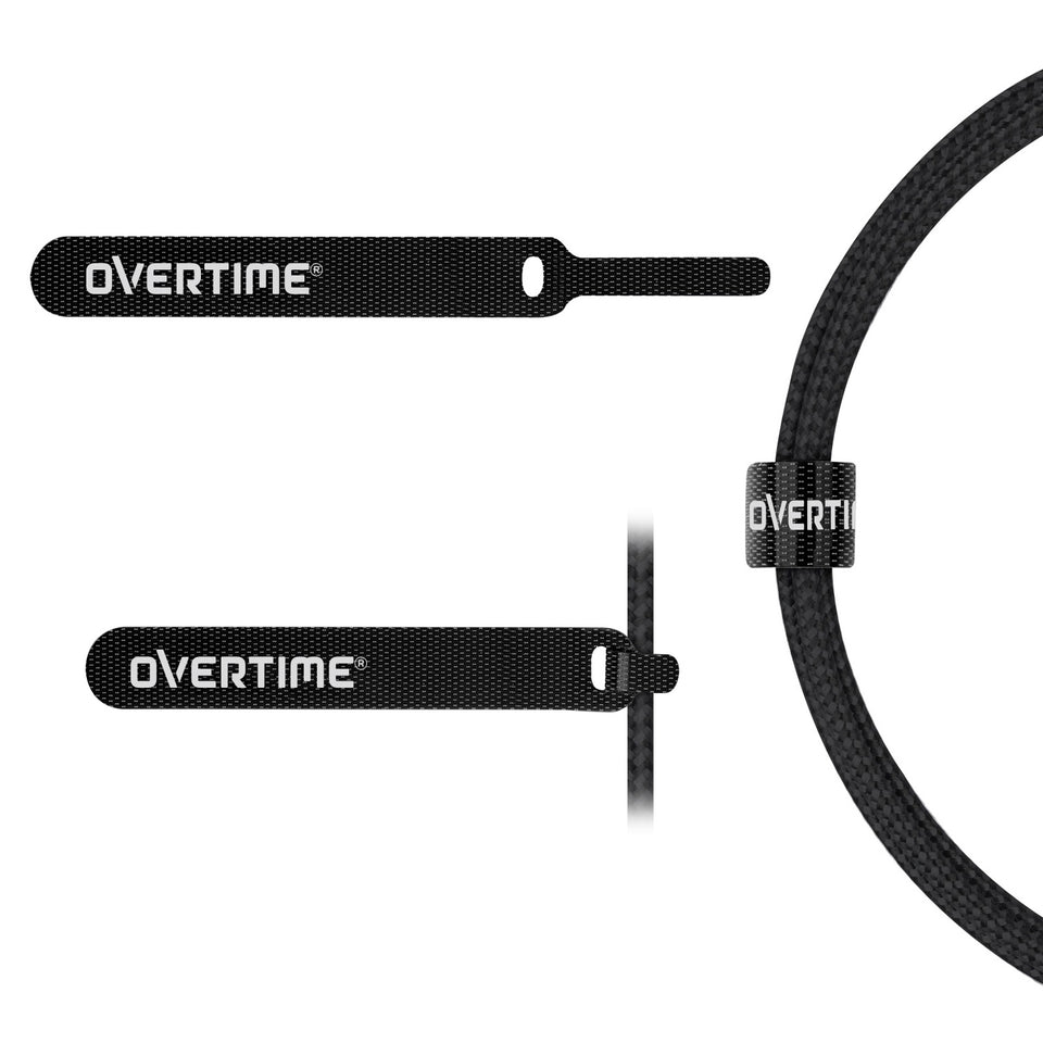 Overtime USB Type C Premium Braided Cable Fast Rapid Charging USB Cable 6 Ft Black