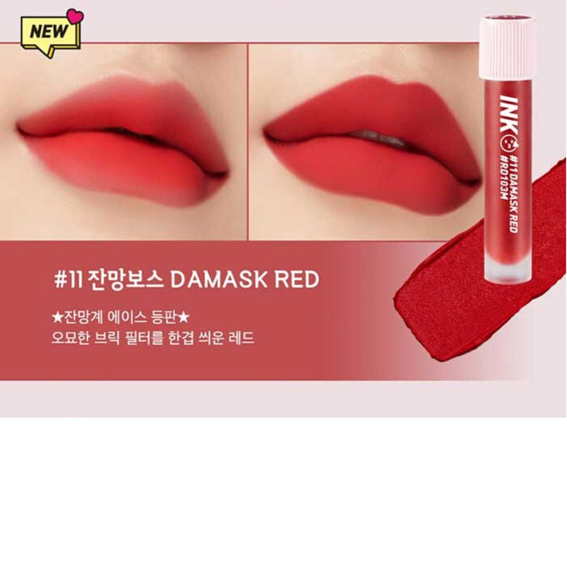 Peripera - Ink Matte Blur Tint 011 Damask Red