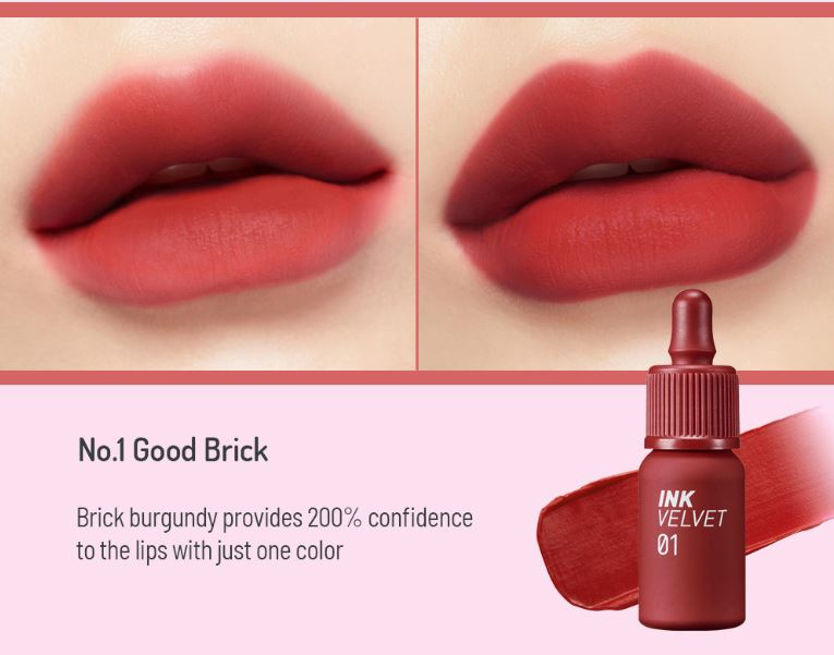 Peripera - Ink The Velvet 4g #01 Good Brick