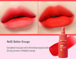 Peripera - Ink The Velvet 4g #10 Better Orange