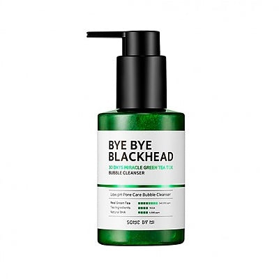 SOME BY MI - Bye Bye Blackhead 30 Days Miracle Green Tea Tox Bubble Cleanser 120g