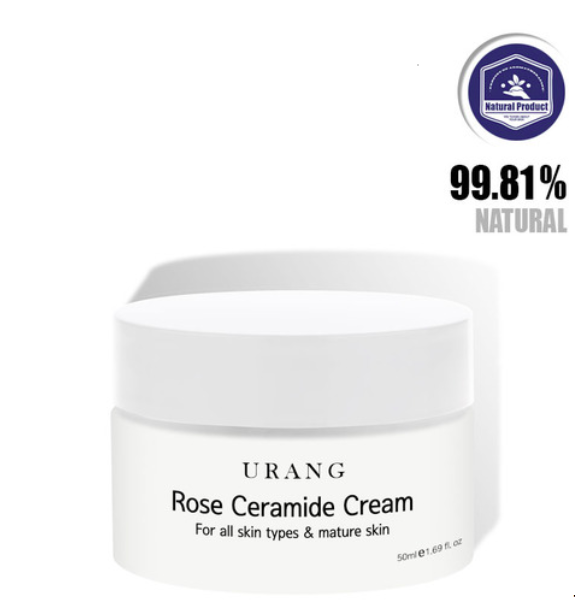 Urang - Organic Rose Ceramide Face Cream (50ml)