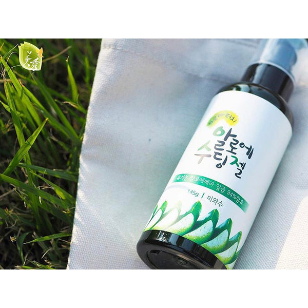 Mi and Su - Organic Aloe Soothing Face Gel