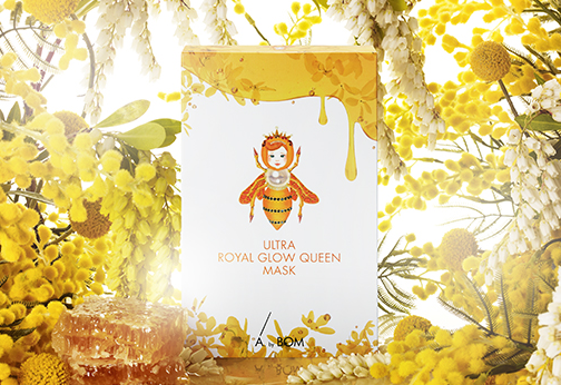 A by Bom - Ultra Royal Glow Queen Mask