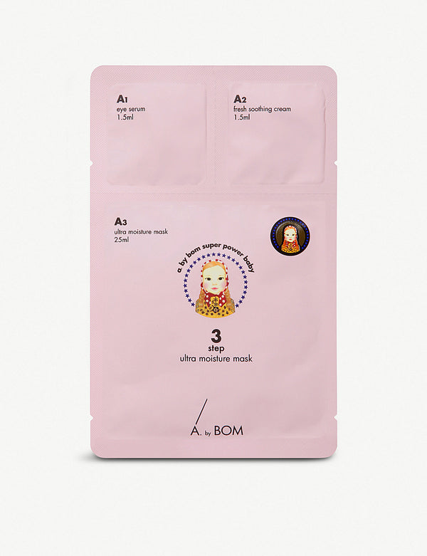 A by Bom - Ultra Moisture 3-part face mask