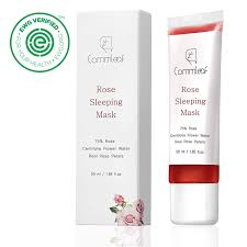 Commleaf - Rose Sleeping Mask 50ml (without Silicone Brush)