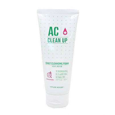 Etude house - AC Clean up Daily Cleansing Foam (150ml)