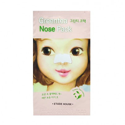 Etude house - Green tea Nose Pack