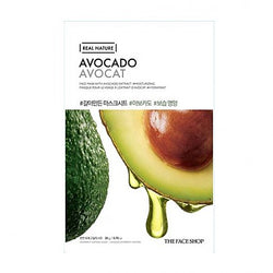 The face shop - Real Nature Mask (Avocado)
