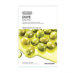 The face shop - Real Nature Mask (Olive)