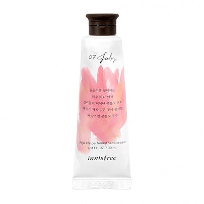 Innisfree - Jeju Life Perfumed Hand Cream 30ml #07 (July)