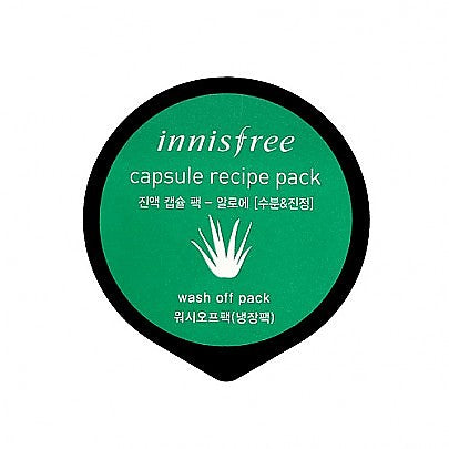 Innisfree - Capsule recipe pack #aloe 10ml