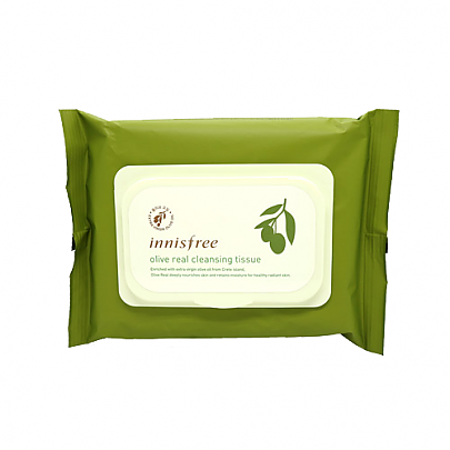 Innisfree - Olive Real Cleansing Tissue 30 Sheets, 150g