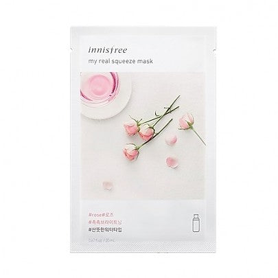 Innisfree - My Real Squeeze Mask (Rose)