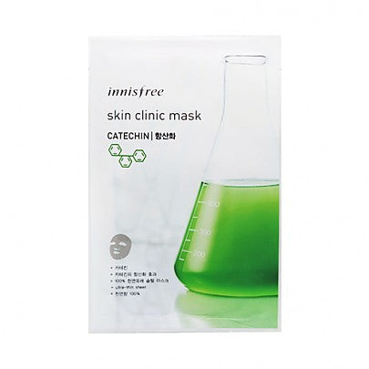 Innisfree - Skin Clinic Mask Sheet (Catechin) 20ml