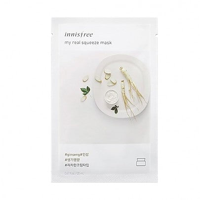 Innisfree - My Real Squeeze Mask (Ginseng)