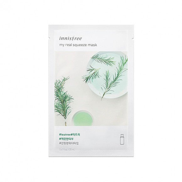 Innisfree - My Real Squeeze Mask (Tea Tree)