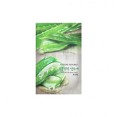 Nature Republic - Real Nature Mask Sheet/ Aloe23ml