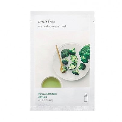Innisfree - My Real Squeeze Mask (Broccoli)