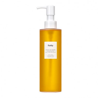 Huxley - Cleansing Oil : Deep Clean, Deep Moist 200ml