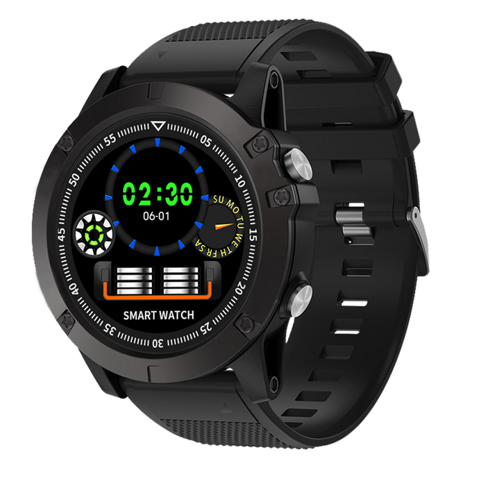 Tactwatch Spovan SW002 Smart Watch Bluetooth Color, Medidor Presión y Ritmo Cardiaco Sportwatch